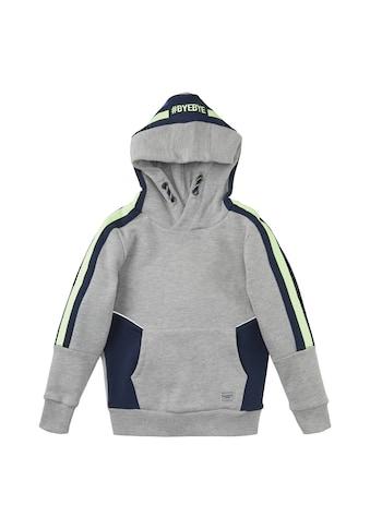 TOM TAILOR Sweatshirt »Hoodie mit Kontraststreifen« kaufen