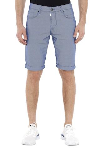Cipo & Baxx Shorts, mit dezentem Karo-Muster kaufen