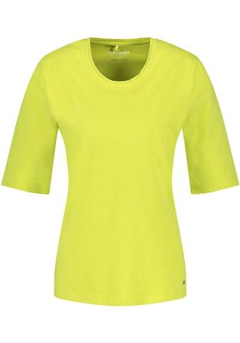 GERRY WEBER Kurzarmshirt, Basic-Form in stylischen Trendfarben kaufen