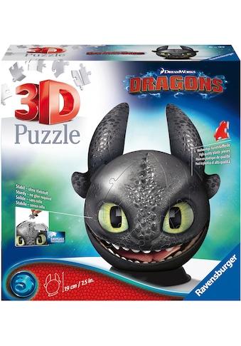 Ravensburger Puzzleball »Dragons 3 - Ohnezahn mit Ohren«, Made in Europe, FSC® - schützt Wald - weltweit kaufen