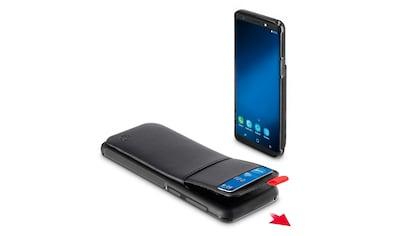 Hama Cover, Tasche für Samsung Galaxy S9 Red Sensation No. 1 »Smartphone Hülle Schwarz/Rot« kaufen