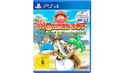 PlayStation 4 Spiel »Wonder Boy: Asha in Monster World«, PlayStation 4 kaufen