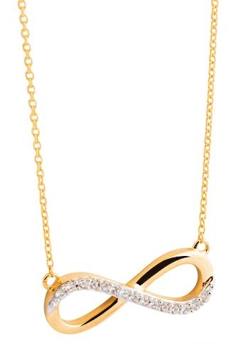 NANA KAY Kette mit Anhänger »Gold, Infinity/Unendlichkeitsschleife, FG053S«, mit Zirkonia (synth.) kaufen