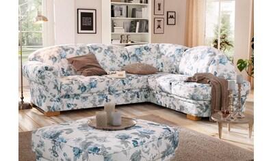 Home affaire Ecksofa »Amrum«, mit Blumenmuster, wahlweise mit Bettfunktion und... kaufen