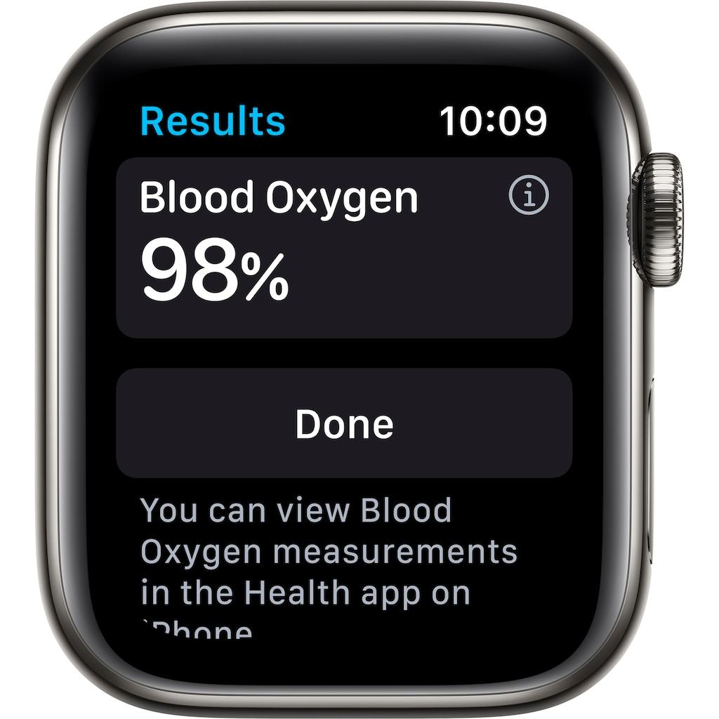 Apple Smartwatch »Watch Series 6«, (Watch OS inkl. Ladestation (magnetisches Ladekabel)