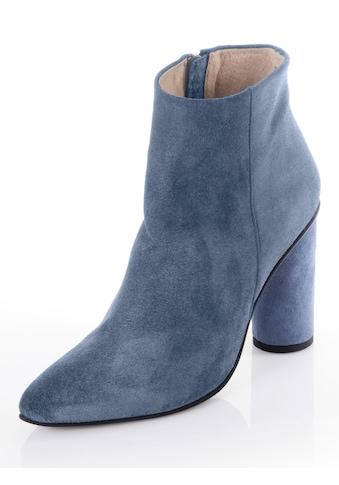 Alba Moda Stiefelette aus Veloursleder kaufen