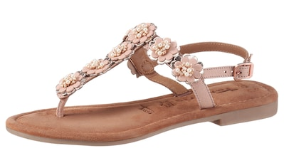 Tamaris Sandale »MINU«, mit schönen Blüten verziert kaufen