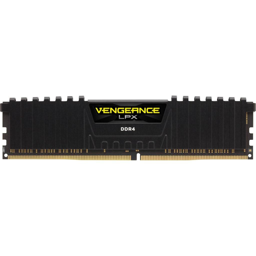 Corsair PC-Arbeitsspeicher »VENGEANCE® LPX Speicherkit 64 GB (2 x 32 GB) DDR4 DRAM 3200MHz C16«