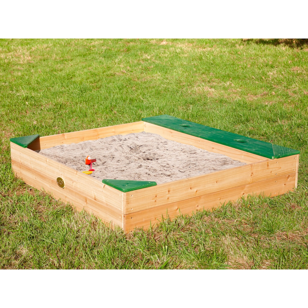 AXI Sandkasten »Amy«, BxLxH: 115x115x22 cm