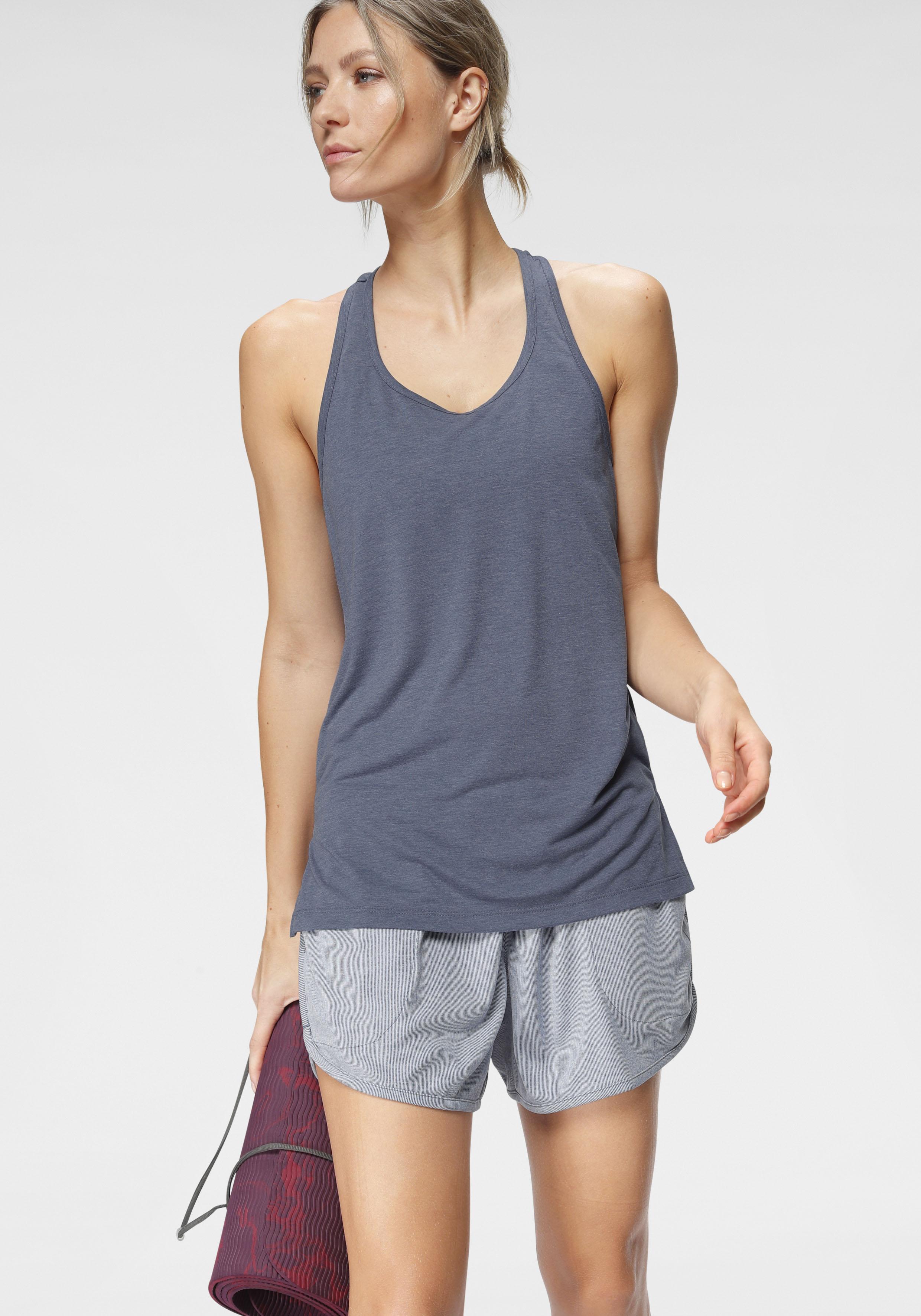 Nike Yogatop Nike Yoga Women's Tank, blau, Damen