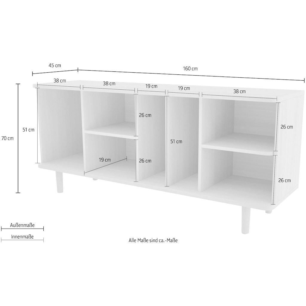 Woodman Sideboard »Malic«, Breite 160 cm