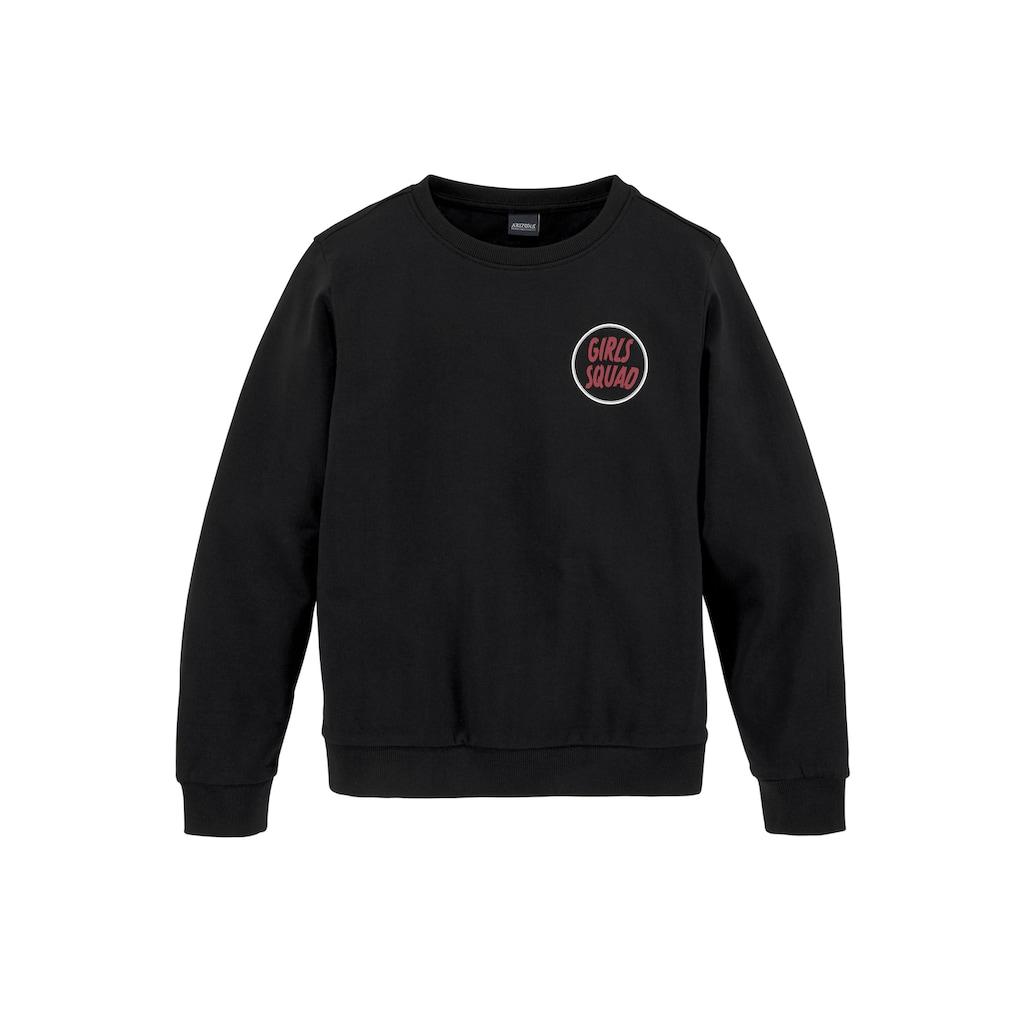 Arizona Sweatshirt, in modischer weiter Form