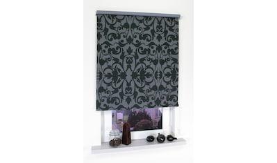 Seitenzugrollo »Dekor Ornament«, Liedeco, Lichtschutz, ohne Bohren kaufen