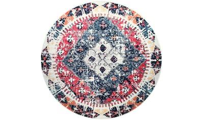Teppich, »Artigo 403«, Paco Home, rund, Höhe 11 mm, maschinell gewebt kaufen