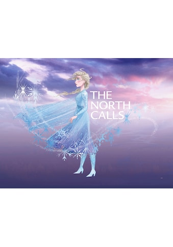 KOMAR Wanddekoration »Frozen Elsa The North Calls«, ohne Rahmen kaufen