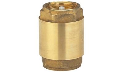 """GARDENA Rückschlagventil »07231-20«, Zwischenventil Messing, 33,3mm (G1"""") kaufen"""