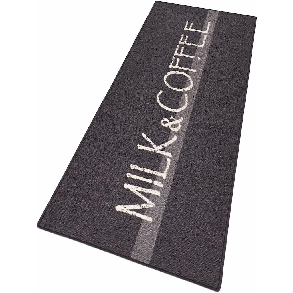 HANSE Home Küchenläufer »Milk & Coffee«, rechteckig, 8 mm Höhe