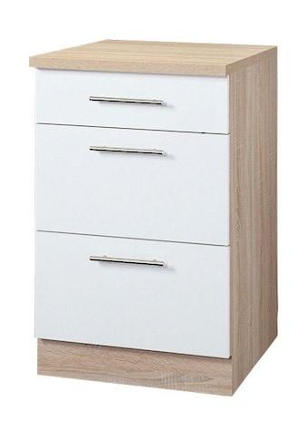 wiho Küchen Unterschrank »Montana«, 50 cm breit mit 2 Auszügen kaufen