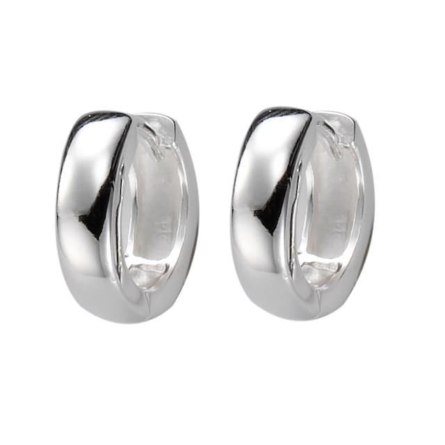 Zeeme Creolen »925/- Sterling Silber glänzend«