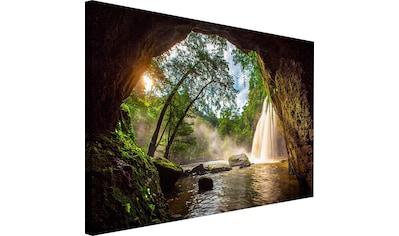 Wandbild »Steinhöhle« kaufen
