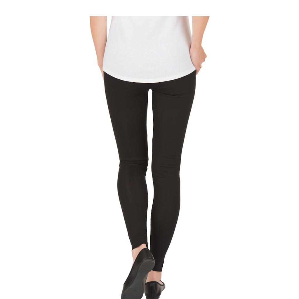 Trigema Leggings, aus Baumwolle/Elastan