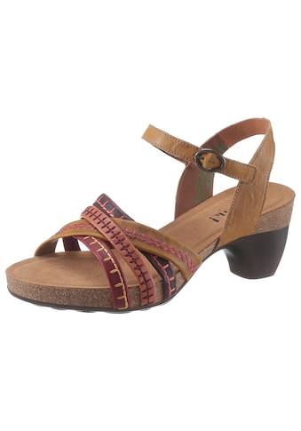 Think! Sandalette »Traudi«, mit schönen Ziernähten kaufen