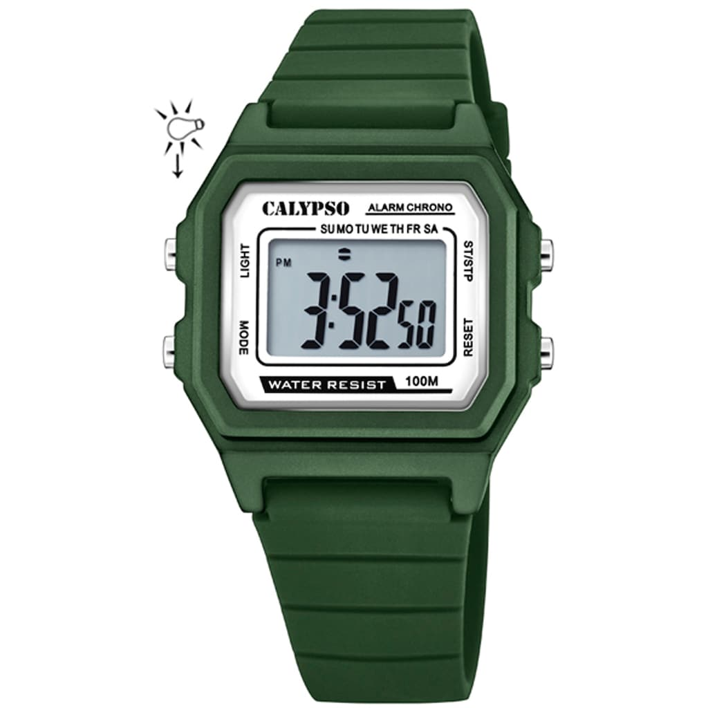 CALYPSO WATCHES Chronograph »Digital Crush, K5805/2«