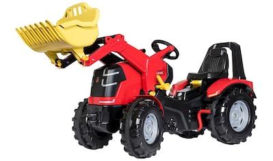 Rolly Toys Tretfahrzeug »X-Trac Premium«, Kindertraktor mit Lader und Bremse kaufen