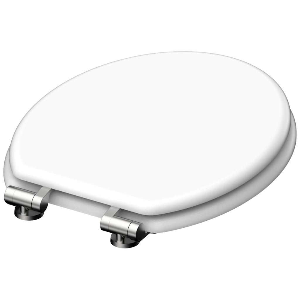 Schütte WC-Sitz »MDF WC- Sitz mit Holzkern & Absenkautomatik«, mit Absenkautomatik