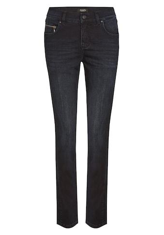 ANGELS Jeans 'Cici Zip' mit Zip - Details kaufen