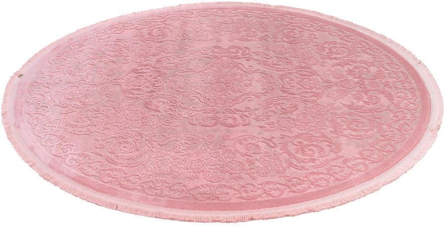 Teppich Noblesse 900 LALEE rund Höhe 12 mm maschinell gewebt