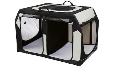 Trixie Transportbox »Vario Double Gr. S«, BxTxH: 91x60x61/57 cm kaufen