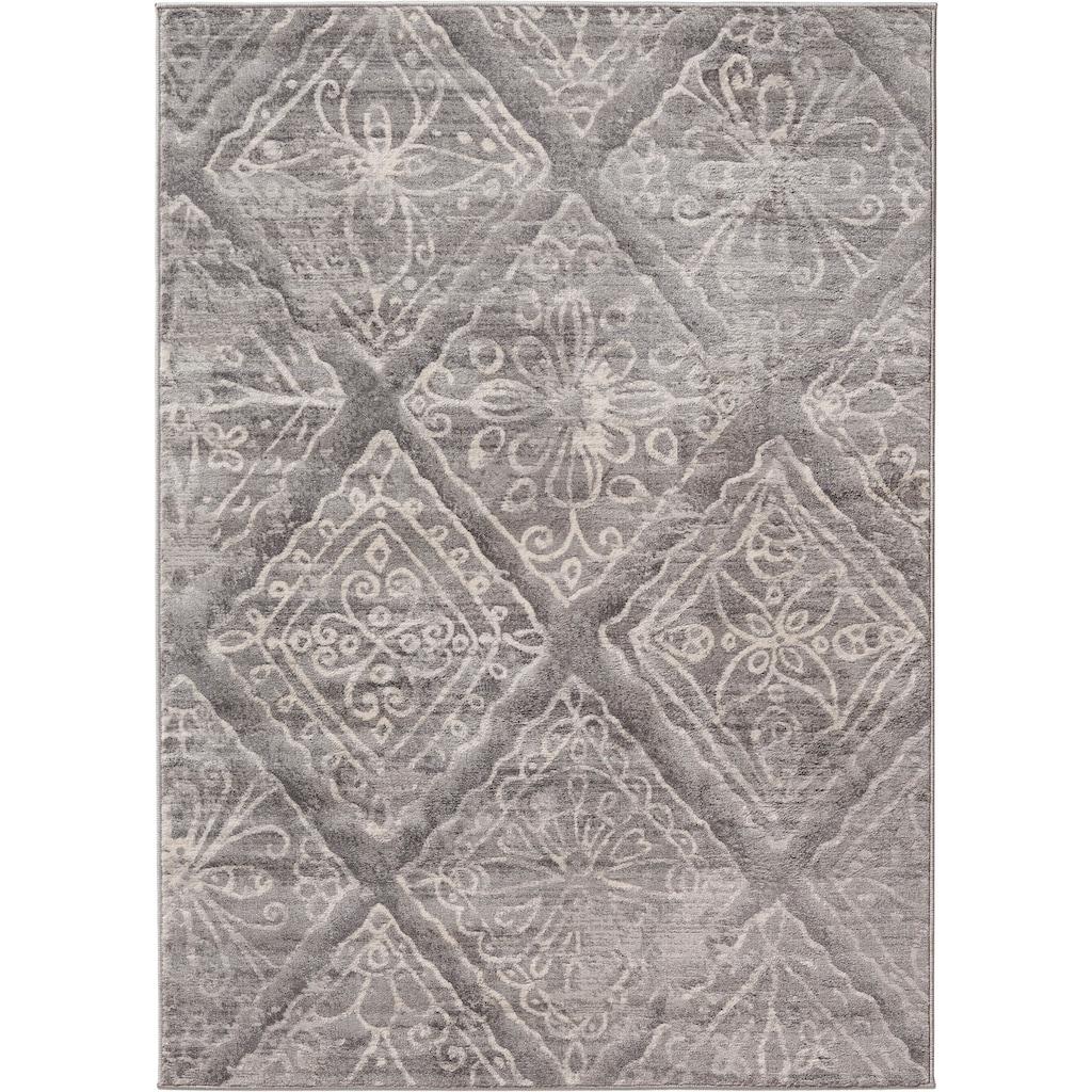 Sehrazat Orientteppich »Montana 3734«, rechteckig, 8 mm Höhe, Wohnzimmer