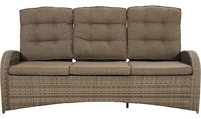 PLOSS Loungesofa »Rabida Comfort«, Polyrattan, inkl. Auflagen kaufen