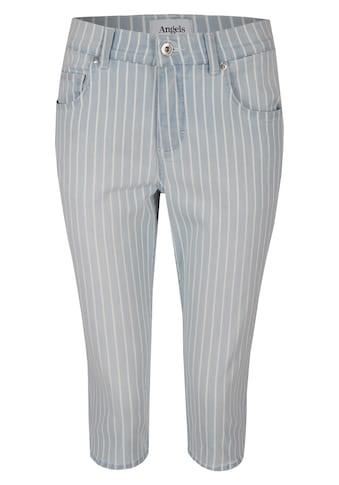 ANGELS Jeans,Capri' mit modischem Streifenmuster kaufen