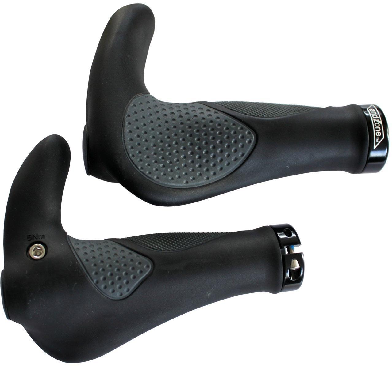 Point Fahrradlenkergriff AD 3 (2-tlg., Paar) grau Fahrradteile Fahrradzubehör Fahrräder Zubehör Lenkergriffe