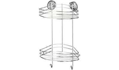 WENKO Duschablage »Vacuum - Loc 2 Etagen«, 2 Haken, Befestigen ohne bohren kaufen