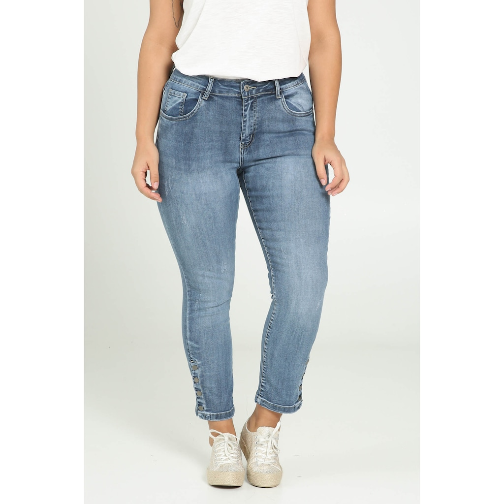 Paprika Weite Jeans »Hosenende umgeschlagen«