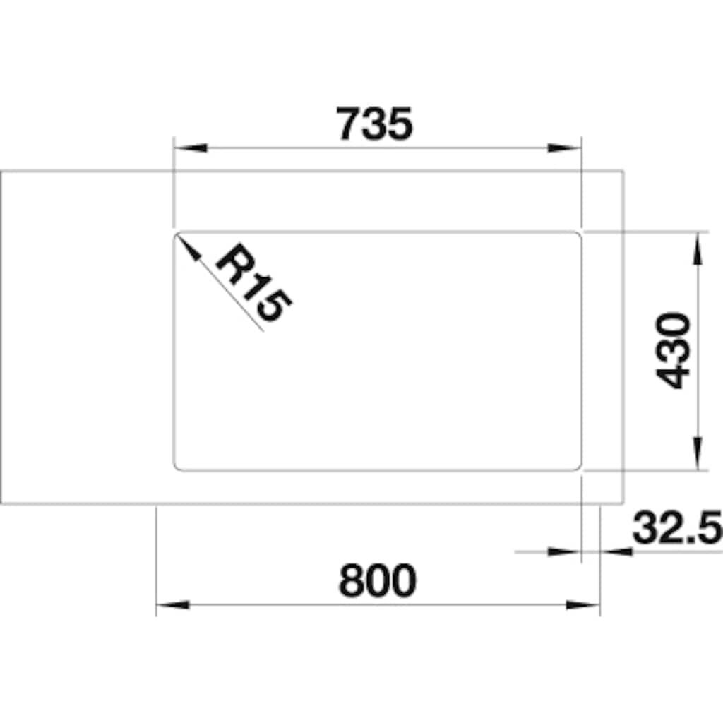 Blanco Küchenspüle »ANDANO 340/340-IF«