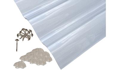 PALRAM Set: Wellplatte »Suntuf«, 1,4 mm klar, 6 Stück á 90x200 cm kaufen