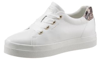 Gant Footwear Plateausneaker »AVONA«, mit Snake-Besatz an der Ferse kaufen