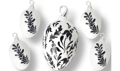 Krebs Glas Lauscha Osterei »Floral« kaufen