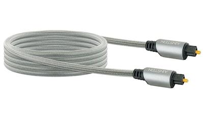 Schwaiger Toslink Kabel, Lichtwellenleiter mit vergoldeten Metallsteckern »mit Knickschtutz« kaufen