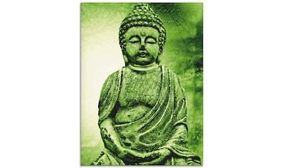 Artland Glasbild »Buddha«, Religion, (1 St.) kaufen
