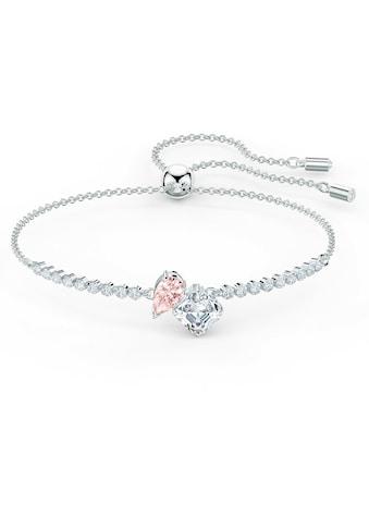 Swarovski Armband »Attract Soul, rosa, rhodiniert, 5517120« kaufen