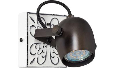 Brilliant Leuchten Wandstrahler »Lapas«, GU10, Vintage, Metall, GU10, 1 x 6W, ca. 11x11cm kaufen