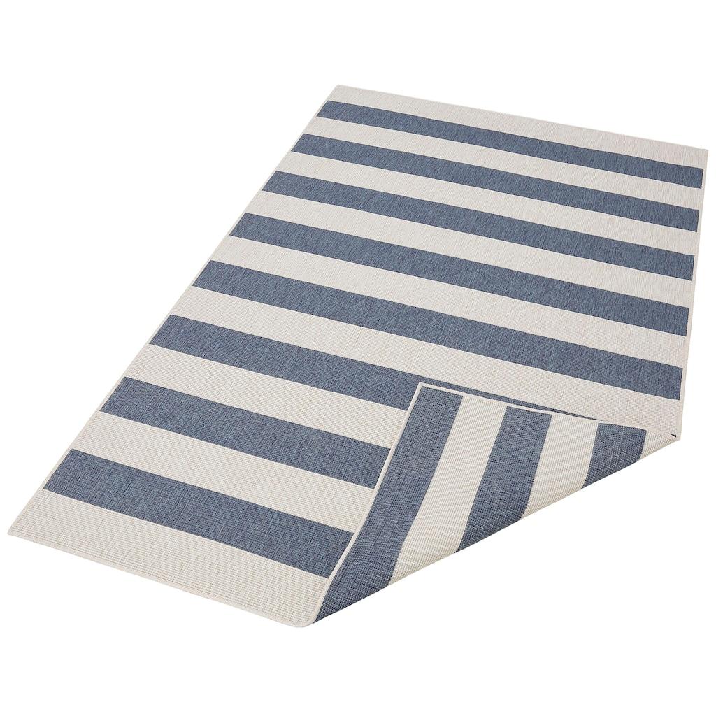 andas Teppich »Alan«, rechteckig, 5 mm Höhe, In- und Outdoor geeignet, Wendeteppich, Wohnzimmer