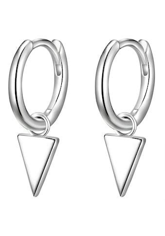 Glanzstücke München Paar Creolen »Set: F695«, (2 tlg.), aus Sterling Silber kaufen