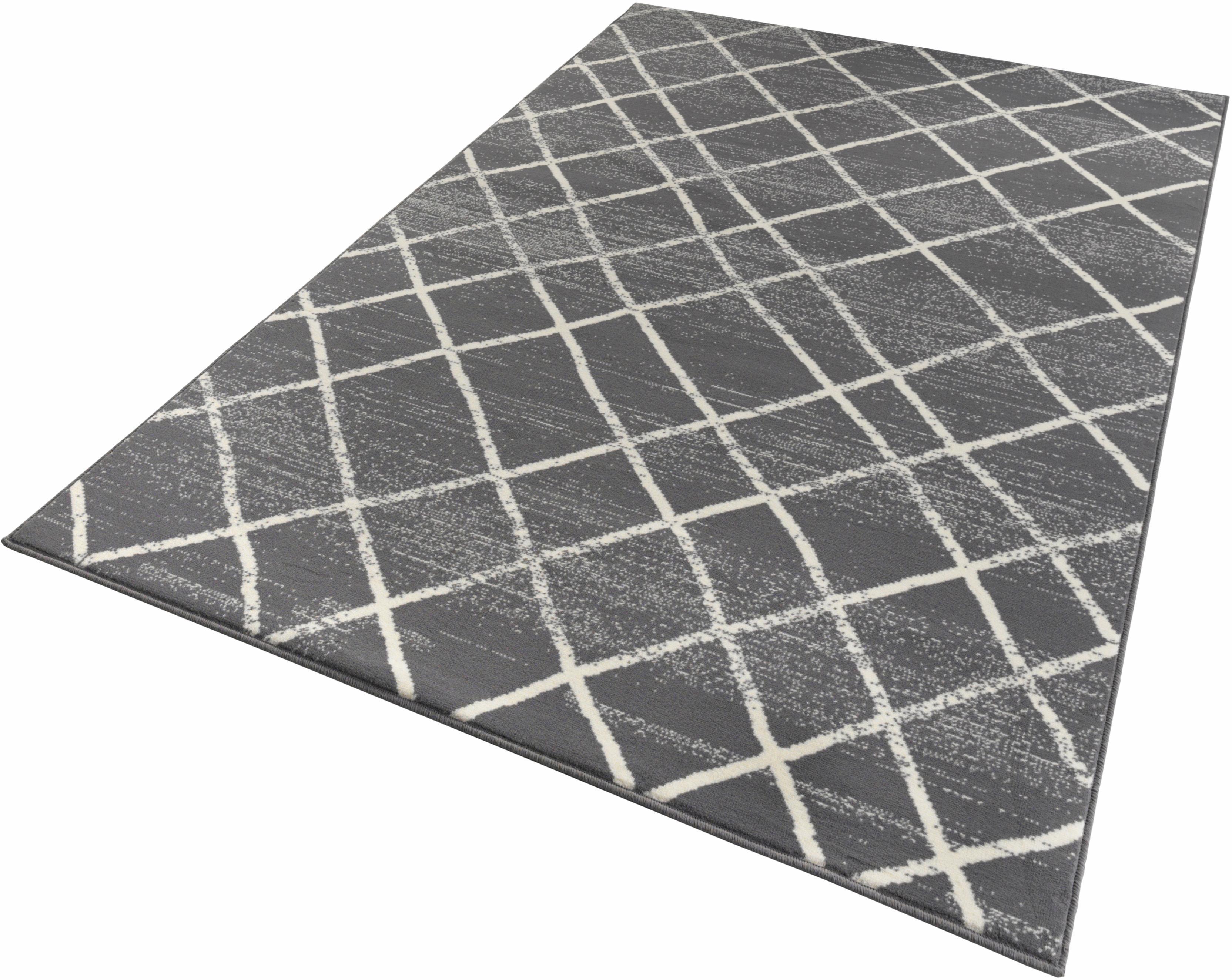 Teppich Rhombe Zala Living rechteckig Höhe 9 mm