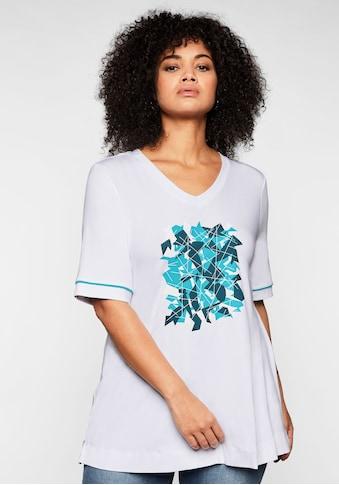 Sheego T-Shirt, aus nachhaltiger Viskose kaufen